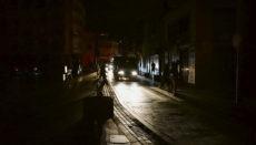 Auf Teneriffa lagen die Straßen stundenlang im Dunkeln. Foto: Moisés Pérez