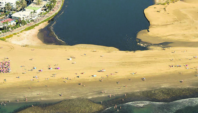 Die Lagune von Maspalomas Foto: miguel angel peña