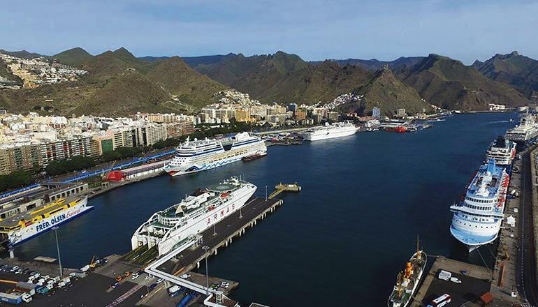 Der Hafen von Santa Cruz auf Teneriffa Foto: Puertos de Tenerife