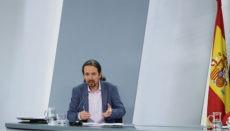 Pablo Iglesias bat bei der Vorstellung des Gesetzesentwurfs alle Opfer von Missbrauch, für die das neue Gesetzt zu spät kommt, um Verzeihung. Foto: efe