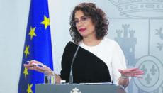 María Jesús Montero ist die spanische Finanzministerin und Regierungssprecherin. Foto EFE
