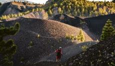 Ein Läufer während der Transvulcania 2019 Foto: Dominic Dahnke