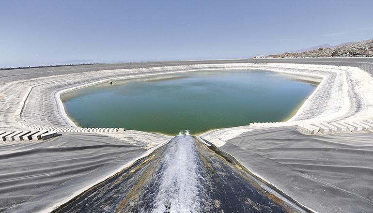 Das Wasserbecken Lomo de Balo in Guía de Isora Foto: CabTF