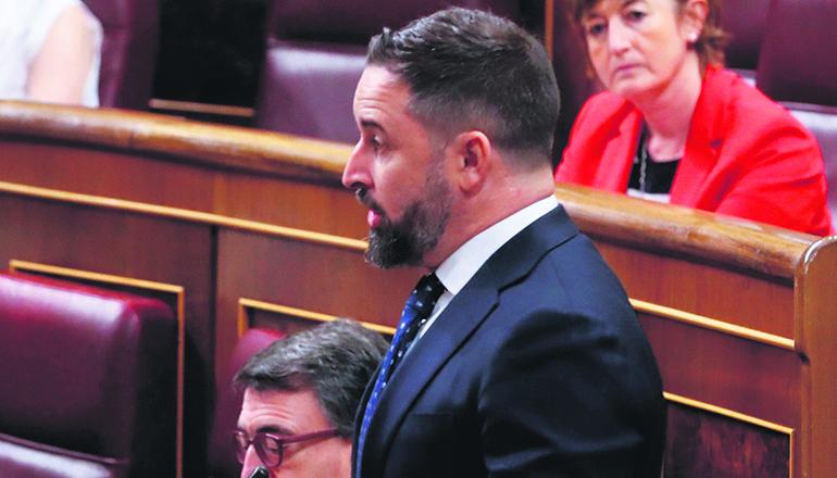 Santiago Abascal, Parteichef von Vox Foto: EFE