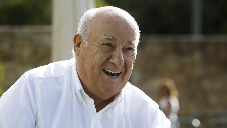 Amancio Ortega. Foto Efe