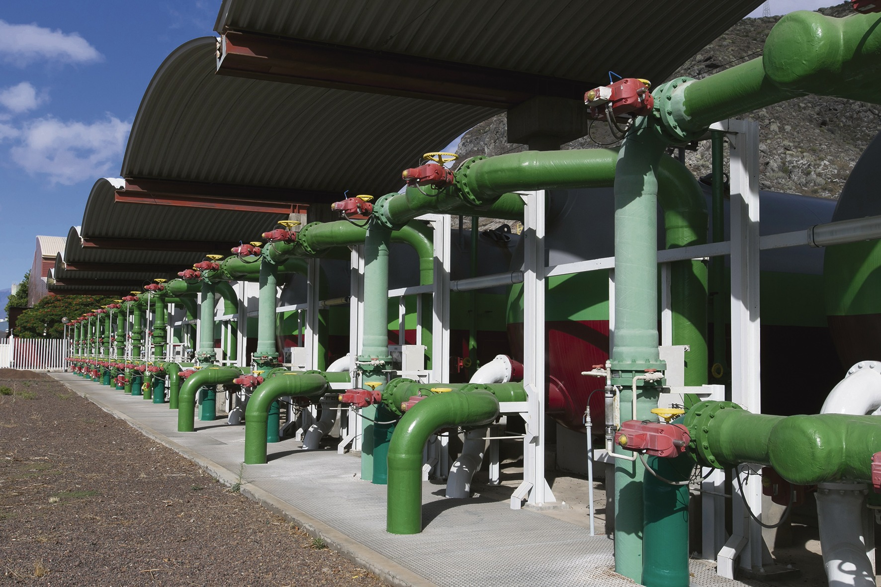 Die Entsalzungsanlage in Santa Cruz garantiert eine sichere und nachhaltige Versorgung. Foto: ayuntamiento de santa cruz