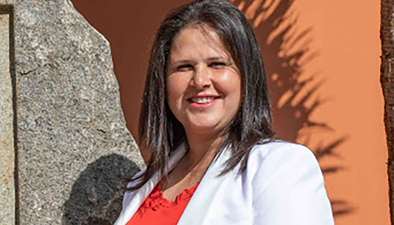 Esther Hernández, Bürgermeisterin von Tuineje Foto: Ayuntamiento de Tuineje