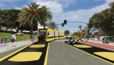 Die ersten Elektrobusse werden in Las Palmas' Innenstadt wohl erst im Jahr 2022 zum Einsatz kommen. Foto: metroguagua