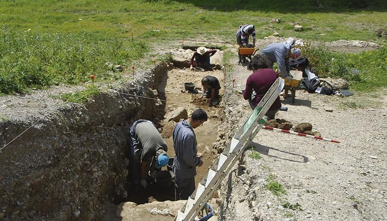 Die Ausgrabungen verliefen in mehreren Phasen. Foto: Ayuntamiento de Algeciras
