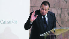 Blas Trujillo übernimmt das Regionalministerium für Gesundheit innerhalb der Kanarenregierung. Foto: EFE