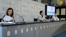 Cabildopräsident Pedro Martín berichtete über die Fortschritte, die bei der Termitenbekämpfung erreicht wurden. Foto: CABTF