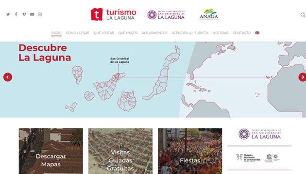 Die neue Website der Tourismusförderung La Laguna ist mehrsprachig. Foto: Turismo La Laguna