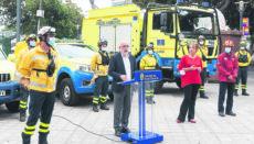 Cabildo- Präsident Antonio Morales stellte die Brandschutzkampagne 2020 vor. Foto: CabGC