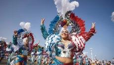 Die Chancen auf einen Karneval in Santa Cruz, so wie wir ihn kennen, stehen für 2021 eher schlecht. Foto: EFE