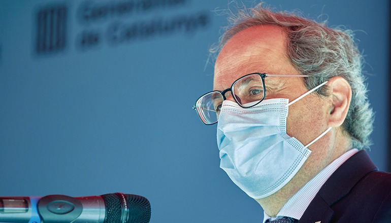 Kataloniens Präsident Quim Torra Foto: efe