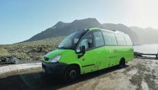 Der Titsa-Bus fährt täglich im Stundentakt zwischen Buenavista und Teno. Foto: Cabildo de Tenerife