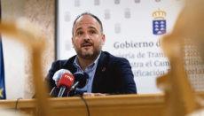 Der Regionalminister für Territorialpolitik, José Antonio Valbuena Foto: EFE