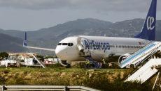 Die Flugzeugflotte von Air Europa wurde bereits um fast ein Fünftel verkleinert. Foto: efe