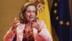 Ministerin Nadia Calviño Foto: efe