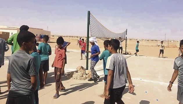 """Auch wenn die Kinder in diesem Sommer der Wüstenhitze nicht entfliehen konnten, sorgten die Aktivitäten des Programms """"Vacaciones en Paz"""" doch für Abwechslung. Fotos: ACAPS"""