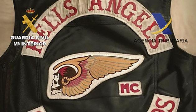 Die Jacke eines Mitglieds des Charters der Hells Angels auf den Kanarischen Inseln Foto: Ministerio der Interior