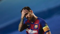 Starfußballer Lionel Messi (33) will nach 20 Jahren den FC Barcelona verlassen