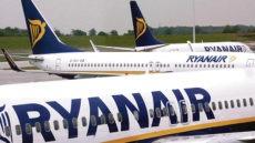 Viele Ryanair-Flugzeuge müssen weiterhin am Boden bleiben. Foto: EFE