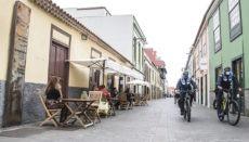 Café-Terrasse in der Innenstadt von La Laguna Foto: Ayuntaminto de La Laguna