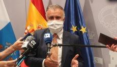 Kanarenpräsident Ángel Víctor Torres forderte die Bevölkerung auf, sich an die Vorschriften zu halten. Foto: EFE