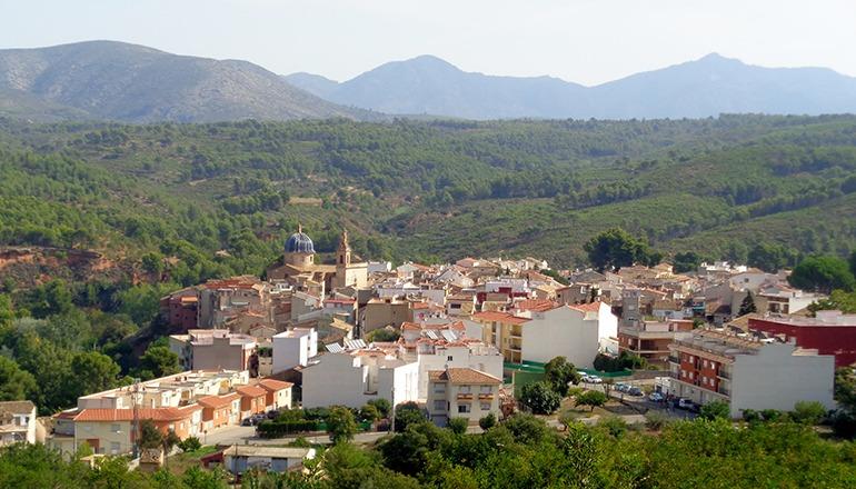 Navajas ist ein Dorf mit 720 Einwohnern in der Provinz Castellón (Valencia). Foto: © Enrique Íñiguez Rodríguez (CC-BY-SA)
