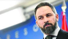 Santiago Abascal, der Parteichef von VOX, geht hart mit der Regierung ins Gericht. Foto: EFE