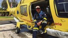 Der Arzt Asdrúbal González berichtet über den Fall eines frühgeborenen Babys, das auf dem Flug in ein Krankenhaus auf Teneriffa zweimal wiederbelebt werden musste.
