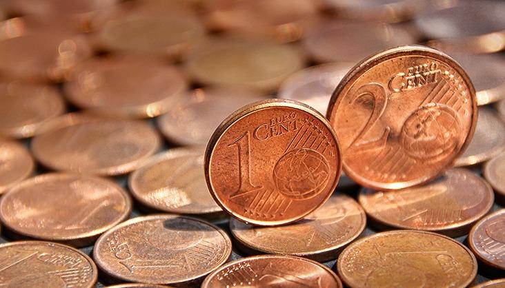 Geht es nach dem Willen der EU-Kommission, sind die Tage der 1- und 2-Cent-Münzen gezählt. Foto: PIXABAY