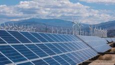 Beim Neubau von Kraftwerken wird bevorzugt auf Erneuerbare Energien gesetzt. Foto: EFE