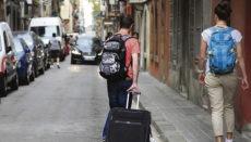 In größeren Städten kann die touristische Vermietung dem Kampf gegen Wohnungsknappheit untergeordnet werden. Foto: EFE