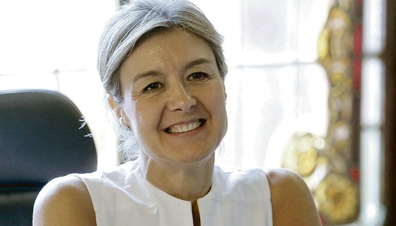 Mit Isabel García Tejerina