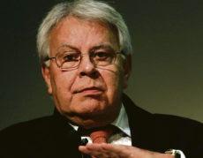 Altpräsident Felipe González Foto: efe