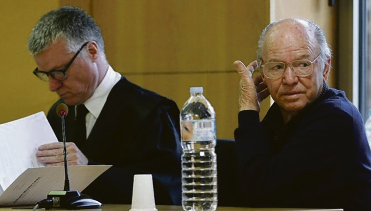 Jacinto Siverio in seinem ersten Prozess (Archivbild) Foto: EFE