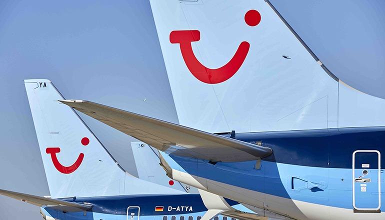 Die ersten Pauschaltouristen der Saison kamen am 3. Oktober mit TUIfly auf die Inseln. Foto: efe
