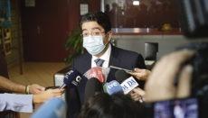 """""""Die Plage ist eingegrenzt"""", lautet die gute Nachricht, die Cabildo-Präsident Pedro Martín zu vermelden hat. Foto: CabTF"""