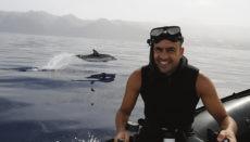 Francis Pérez widmet sich seit 20 Jahren der Unterwasserfotografie. In den letzten zehn Jahren hat er sich dabei vor allem auf Meeressäuger rund um die Kanarischen Inseln konzentriert. Foto: Francis Pérez
