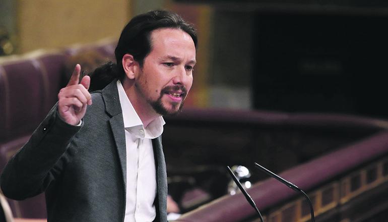 Podemos-Chef Pablo Iglesias Foto: EFE