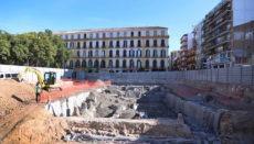 Ausgrabungen bei der Plaza de la Merced Foto: Ayuntamiento de Málaga