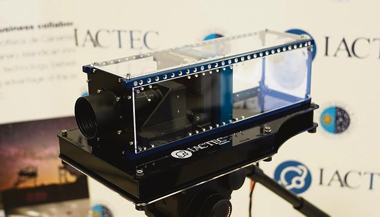 """Die """"Drago""""- Kamera des IAC soll im Dezember im Satelliten ION in den Orbit geschossen werden. Foto: IAC"""
