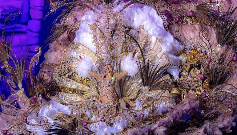 Die Karnevalskönigin von Santa Cruz 2019 Foto: Ayuntamiento de Santa Cruz