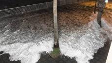Überschwemmung in Garachico Foto: Ayuntamiento de Garachico