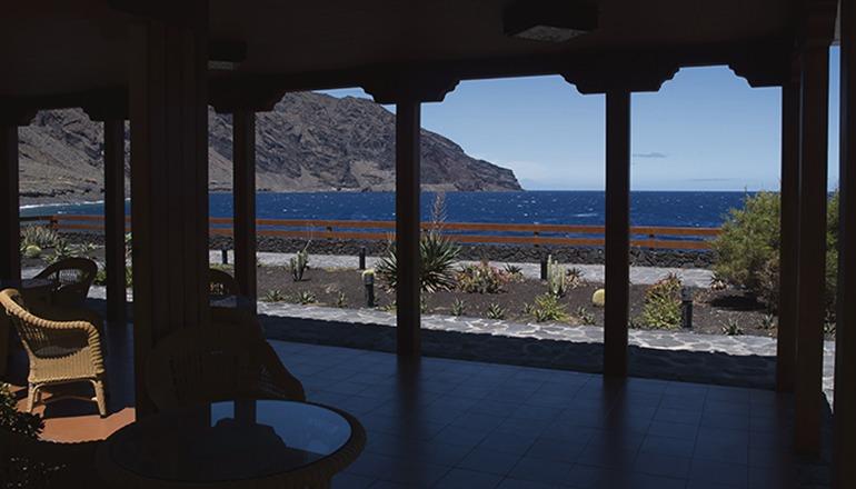Blick aus dem Parador von El Hierro Foto: CABEH