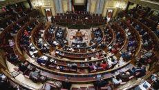 Die Abgeordneten des Spanischen Parlaments haben sich selbst eine Sparrunde verordnet. Foto: EFE