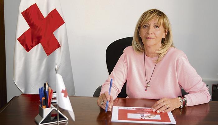 Maite Pociello vom Roten Kreuz Teneriffa Foto: Cruz roja