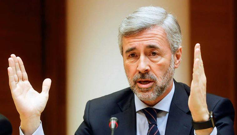 Ex-Minister Ángel Acebes Foto: EFE